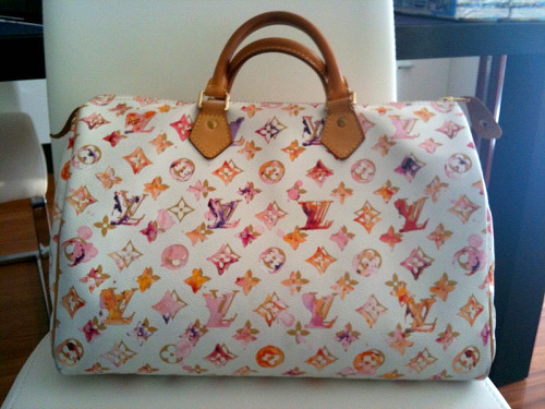 Louis Vuitton Tasche Pink