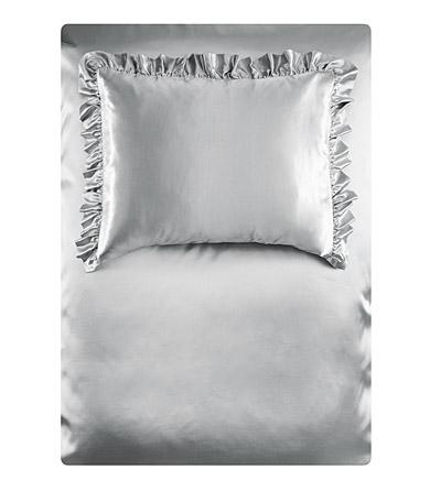 silberne bettw sche von h m josie loves. Black Bedroom Furniture Sets. Home Design Ideas