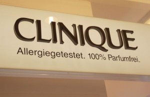 Der Clinique Counter im KaDeWe