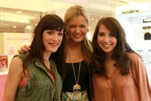 Katrin, Sarah und Julana