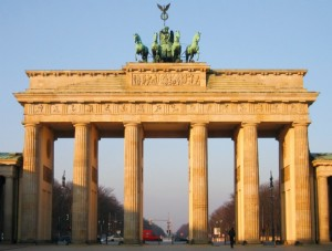Fashion Week Berlin am Brandenburger Tor