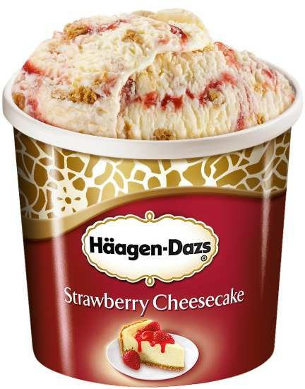 Hagen Daz Strawberry Cheese Cake