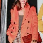 Olivia Palermo in Agnona