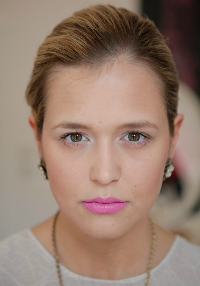 Beauty-Tutorial: Lippen in knalligem Pink