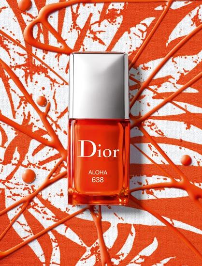 Dior Aloha Nagellack orange