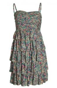 Kleid von Vila, über 7trends