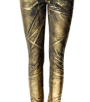 MANGO Jeans Gold