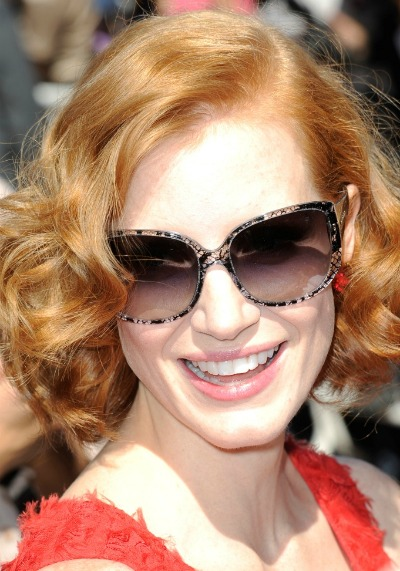 Jessica Chastain Dolce & Gabbana Lace