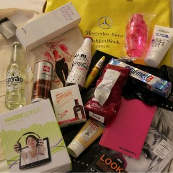 Goodie Bag Fashion Week Berlin