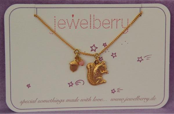 Armkettchen Armband Eichörnchen Jewelberry