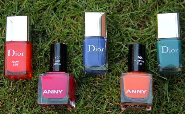 Lieblings-Nagellacke von ANNY und Dior