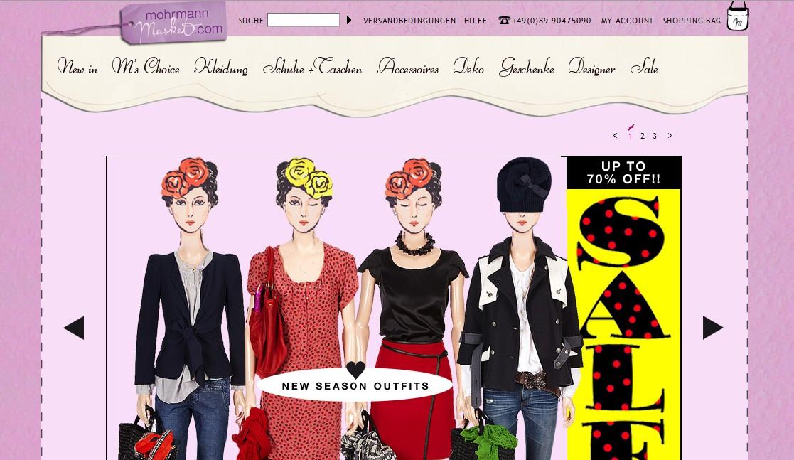 Mohrmann Market Online Shop
