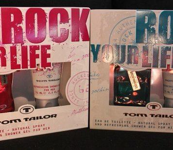 """Gewinnt zwei """"Rock you life"""" Duftsets von Tom Tailor"""