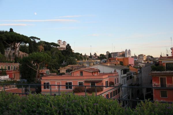Erste Impressionen aus Rom