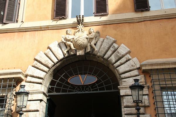 Valentino in Rom