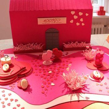 Die pinkfarbene Welt von DoDo: Schmuck für den Valentinstag