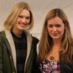 Mit Toni Garrn in New York