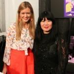 Mit Anna Sui Backstage nach ihrer Show auf der NYFW
