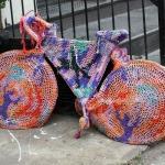 Ein Fahrrad in SoHo New York