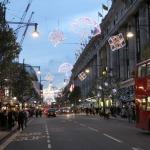 London in der Vorweihnachtszeit