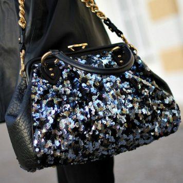 """""""Pailletten Stam Bag"""" von meinem Lieblingsdesigner Marc Jacobs"""