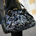 Marc Jacobs Pailletten Stam Bag