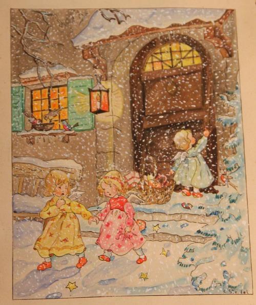 Nostalgische Weihnachtsbilder.Weihnachtliche Nostalgie Josie Loves