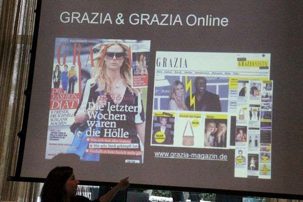"""Das """"Giorgio Armani Blog Atelier"""" in Hamburg"""