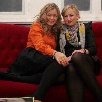 Sarah und Julia von Frollein Josie