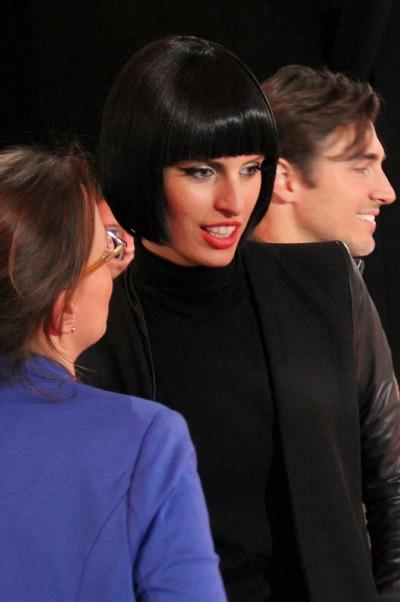 Karolina Kurkova Inkognito auf der Fashion Week
