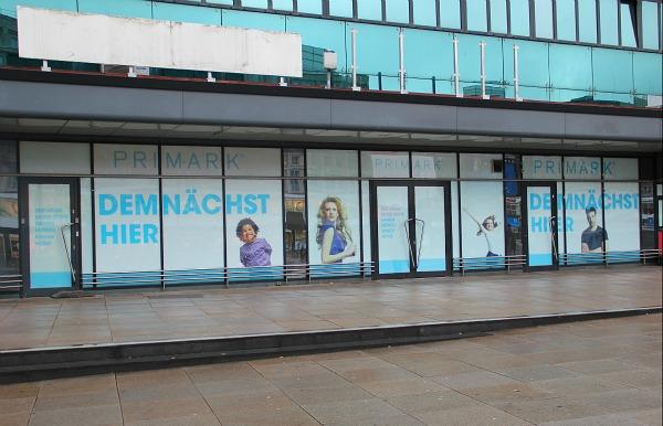 Primark eröffnet in Berlin am Alexanderplatz
