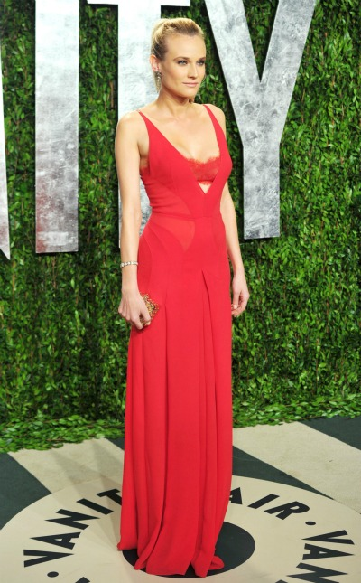 Diane Kruger in Calvin Klein