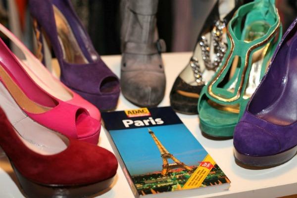 Packen für Paris