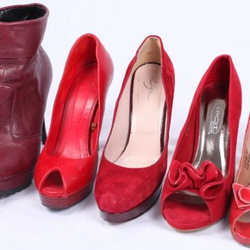 Rot, Rot, Rot sind alle meine Schuhe ...