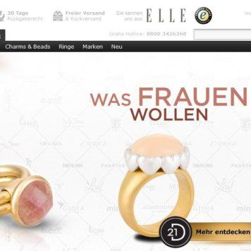 21Diamonds.de: Shopporträt und Gewinnspiel