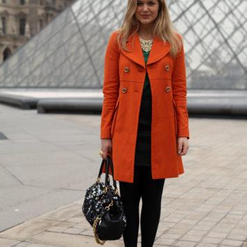Paris Fashion Week: Tagesoutfit 3. März