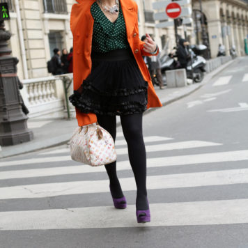 Paris Fashion Week: Outfit 7. März