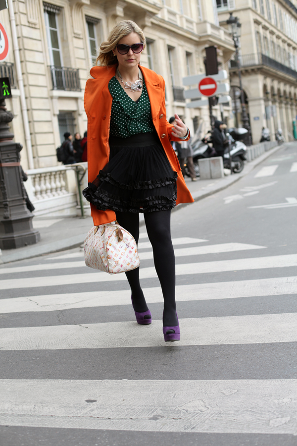 Paris Fashion Week: Outfit 7. März