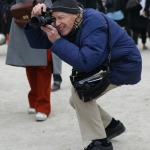 Paris Fashion Week: Bill Cunningham in Aktion