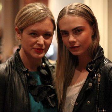 Paris Fashion Week: Cara Delevingne nach der Valentin Yudashkin Show