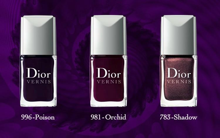 "Limitierte Nagellacke von Dior: ""Les Violets Hypnotiques"""