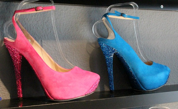 Schuh-Liebe im Showroom von Jimmy Choo