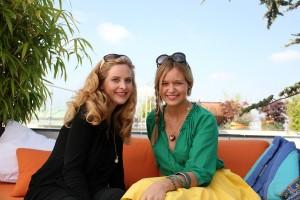 Mit Diana Amft in München