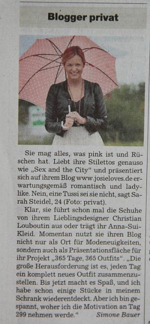 In der Süddeutschen Zeitung
