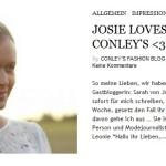 Josie loves für CONLEY'S