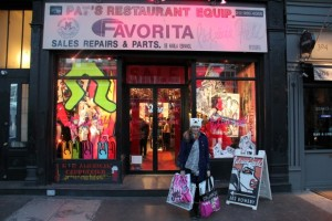 Bei Patricia Field in New York