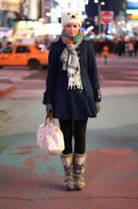 Auf dem Times Square