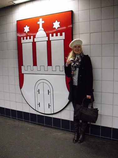 Liesa in ihrer Lieblingsstadt