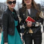 Mit Anna Dello Russo in Paris