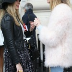 Mit Chiara Ferragni in Paris